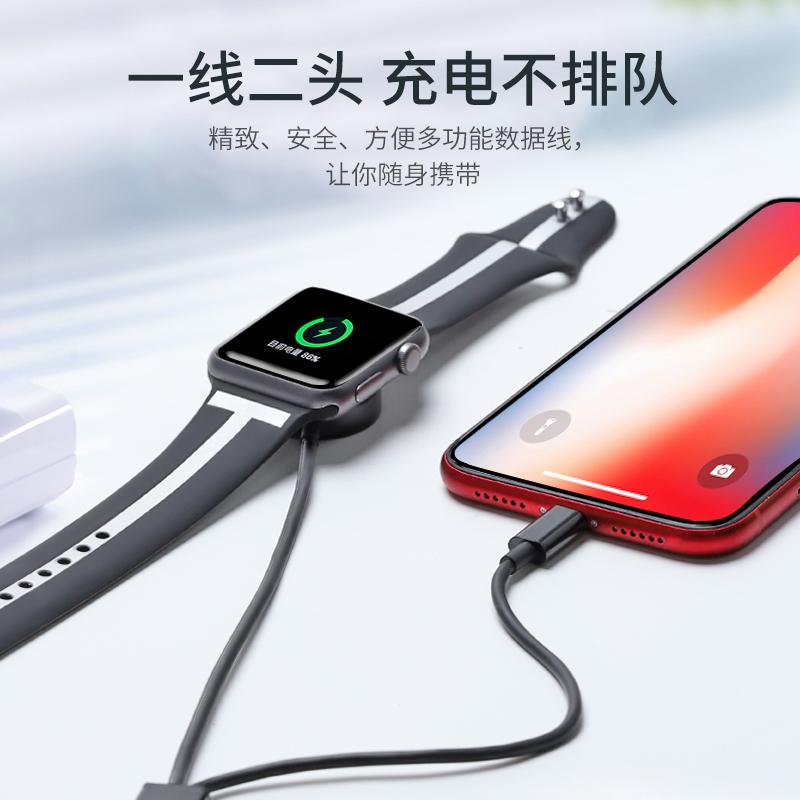 11月29日最新优惠炫戴苹果充电器apple watch充电线