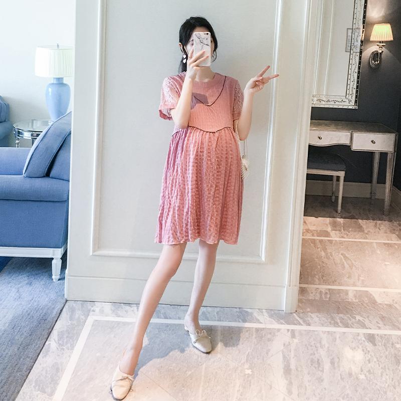 孕妇夏装孕妇装夏季新款宽松连衣裙限时抢购