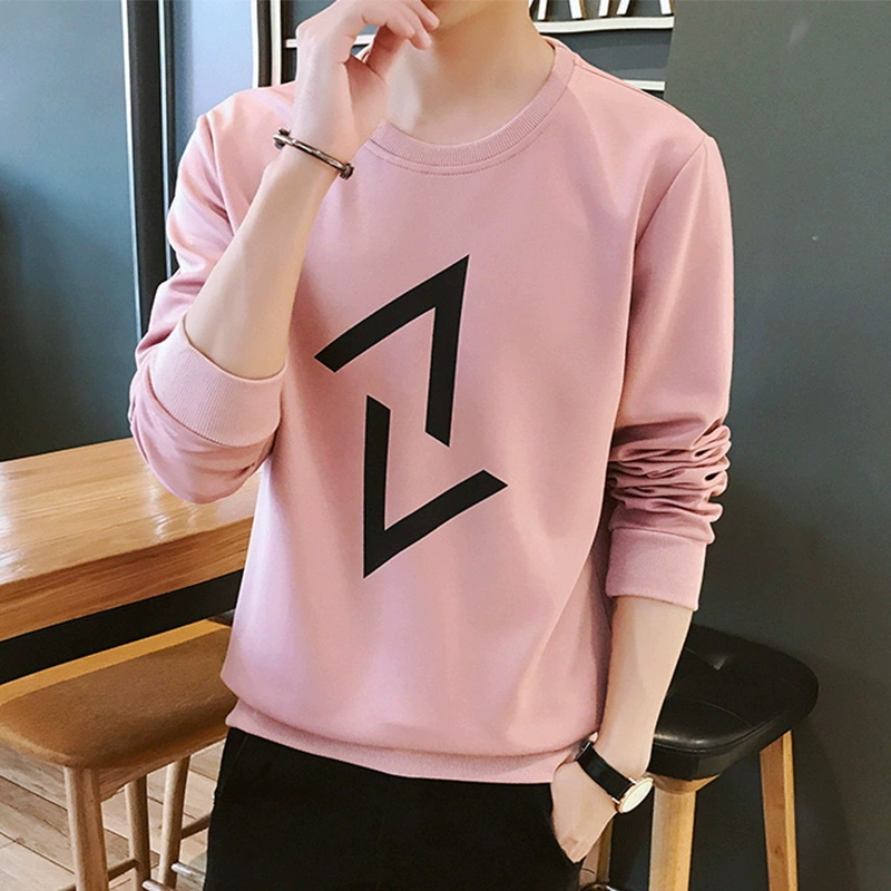 Long-sleeved t-shirt men's fashion brand sweater autumn 2020 new spring youth clothes trend autumn clothing bottoming shirt