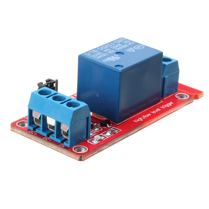 New 1-Channel 12V H/L Level Triger With Optocoupler Relay,可领取元淘宝优惠券