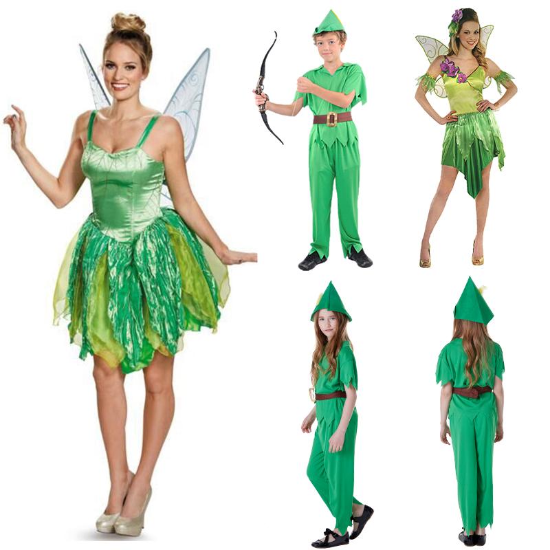 万圣节成人精灵公主小叮当裙子海盗仙子儿童小飞侠梦幻舞会派对