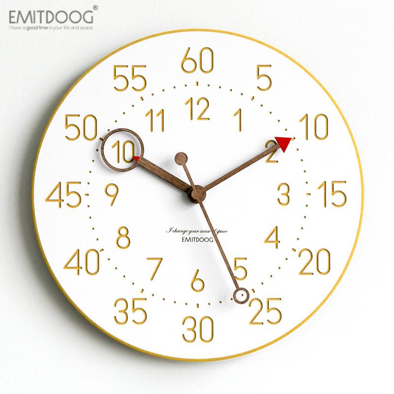 多一米客厅个性创意时尚挂钟现代简约家用时钟欧式北欧石英钟表 Изображение 1