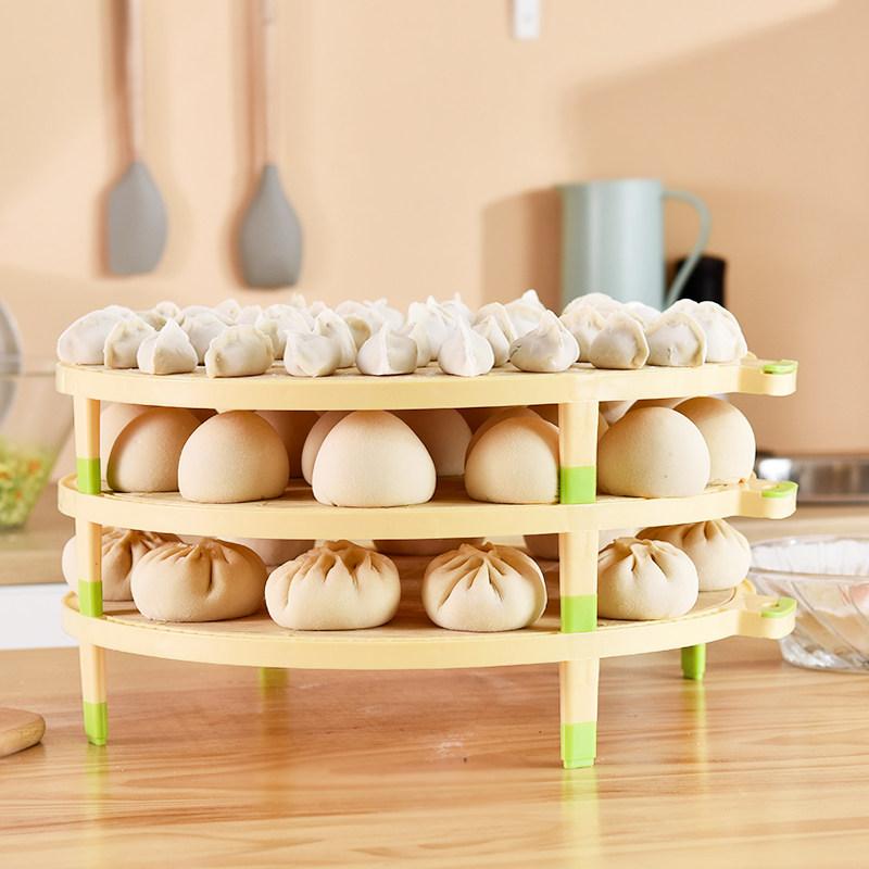 多层水饺帘饺子盖帘锅排盒子馄饨面点水饺托盘包子竹篦子水饺帘子