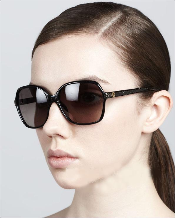 专柜正品 17新款GUCCI太阳镜 GG-3636/F/S 亚洲版 优雅婉约墨镜女
