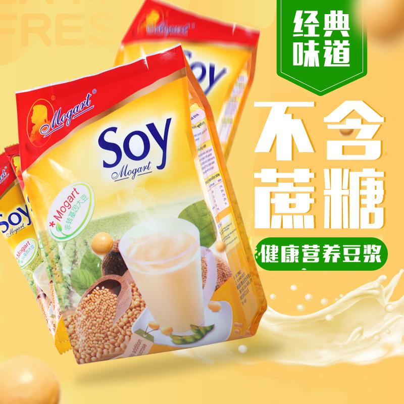 摩岛原味无蔗糖香浓豆浆粉袋装冲饮420g营养早餐豆浆soy豆浆粉
