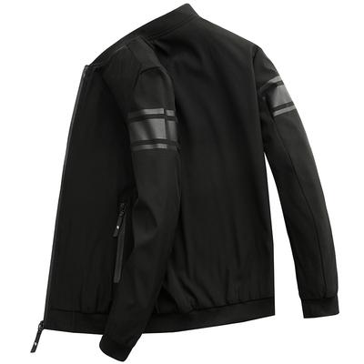 外套男秋装韩版潮流修身青年男装棒球服春季新款男士运动休闲夹克