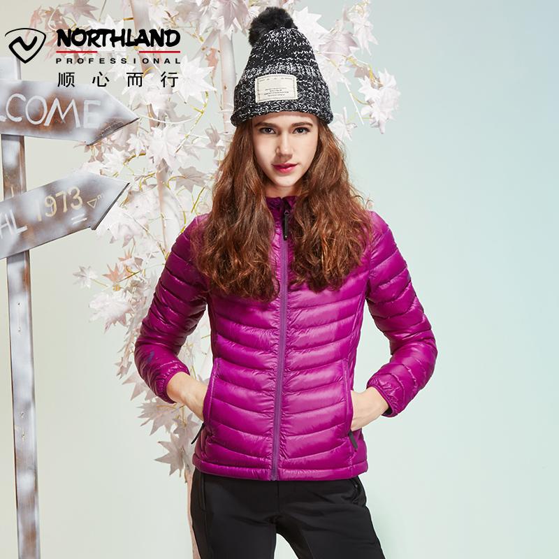 NORTHLAND outdoor осень-зима Женщины 800 Пэн пуховик Гусь вниз куртка GD042618