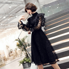 Party dress women's 2019 new dress usually can wear celebrity birthday party dress temperament annual meeting dress