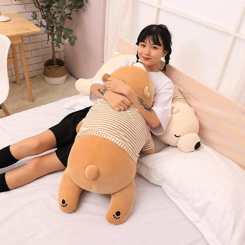 可爱抱抱熊公仔毛绒玩具床上趴趴陪你睡觉超软抱枕女生玩偶布娃娃