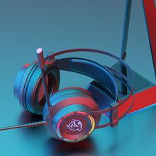 斗鱼DHG160电脑电竞耳机头戴式游戏7.1声道吃鸡听声辩位耳麦有线台式带话筒笔记本超重低音电脑耳机带麦