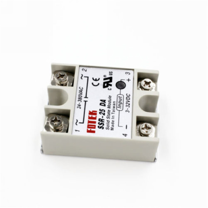 Durable Solid State Relay 24-380V 25A SSR-25 DA For PID Temp,可领取元淘宝优惠券