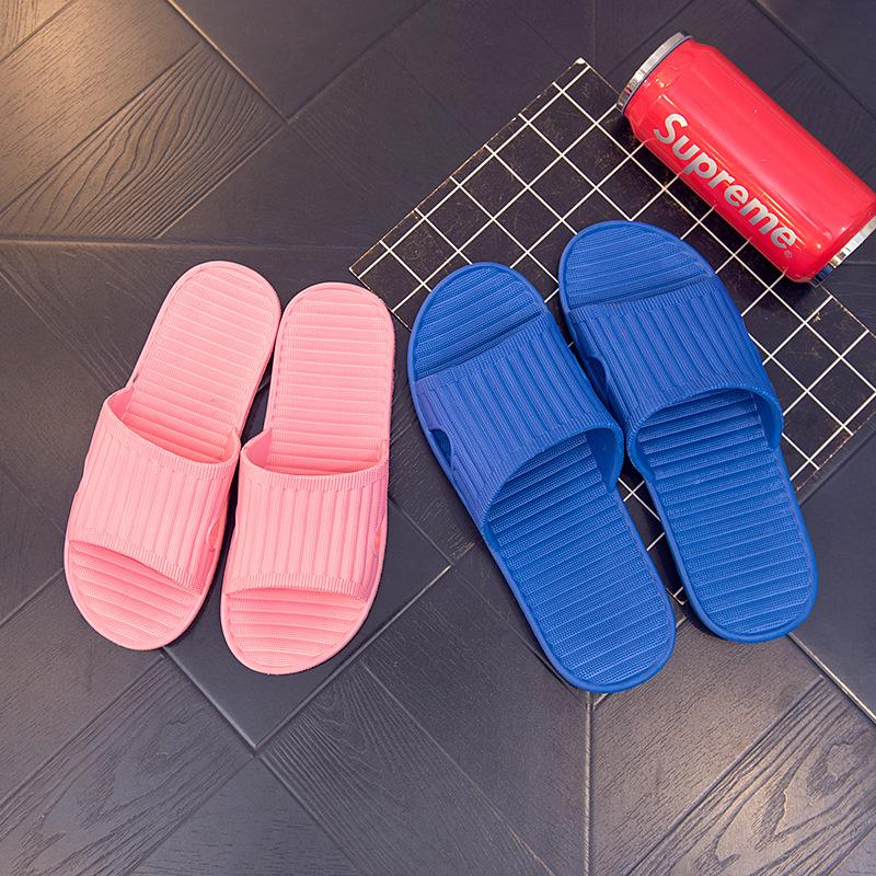 便宜夏季家居家防滑男女室內洗澡浴室厚底1-3元酒店賓館eva涼拖鞋