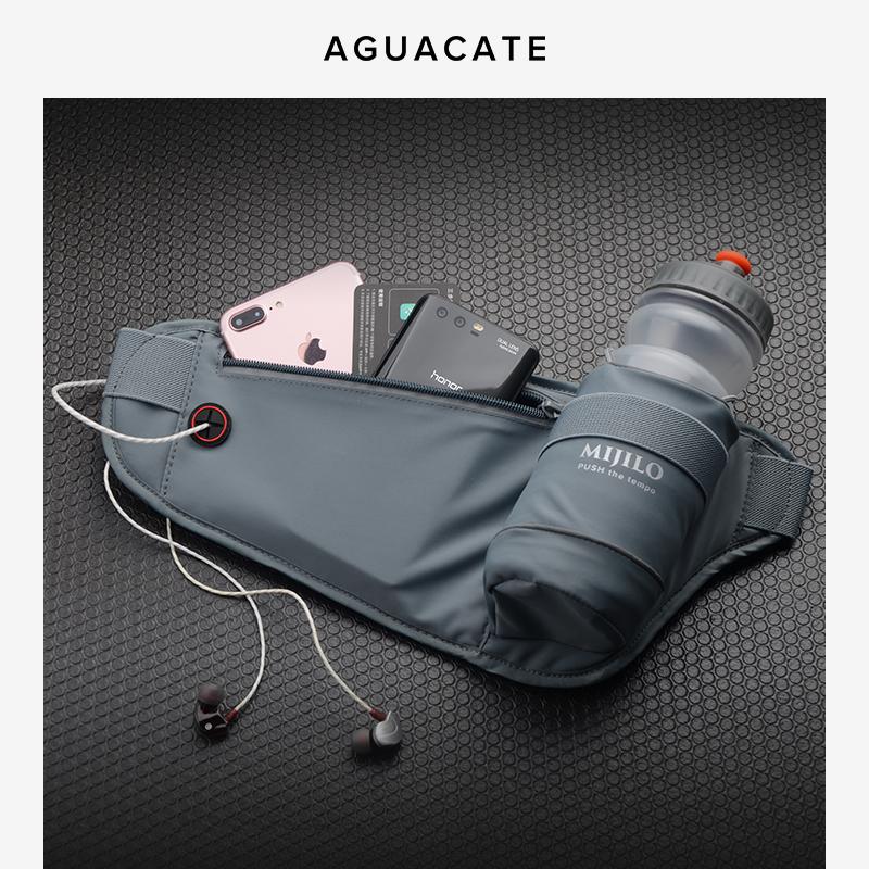 跑步腰包男女运动水壶包马拉松装备户外健身多功能手机包实用防水
