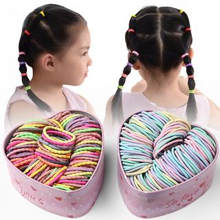 小皮筋女扎头皮套头绳韩国儿童发绳少女扎头发可爱发圈头饰橡皮筋