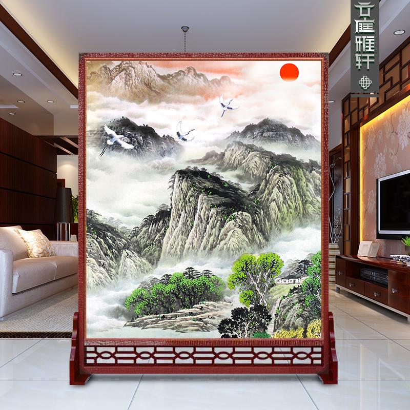 Дерево пирсинг экран китайский стиль этаж вход отрезать гостиная искусство деревянный фэн-шуй продвижение ворота отели сиденье экран