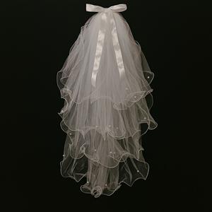 网红拍照抖音同款道具新娘头饰头纱