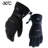 海德户外零下30度滑雪手套防风防水冬季加厚保暖骑行手套男女