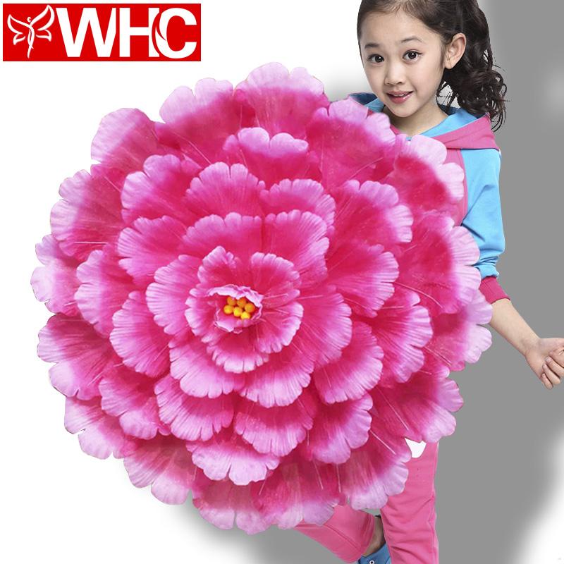 儿童大型舞蹈道具牡丹花伞舞台演出表演学校广场舞跳舞定制幼儿女