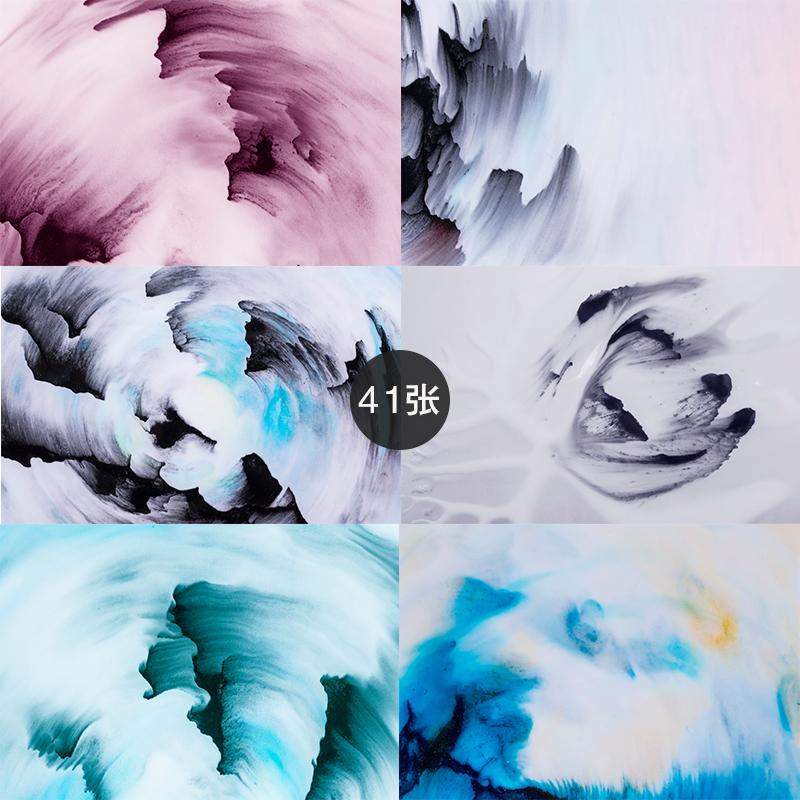 196-旋转形态水墨图片设计素材打包下载jpg彩色墨迹中国风,可领取元淘宝优惠券