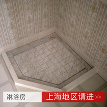 Marble shower room block Water Bar table custom natural windowsill stone artificial stone anti-talc pull Groove ground