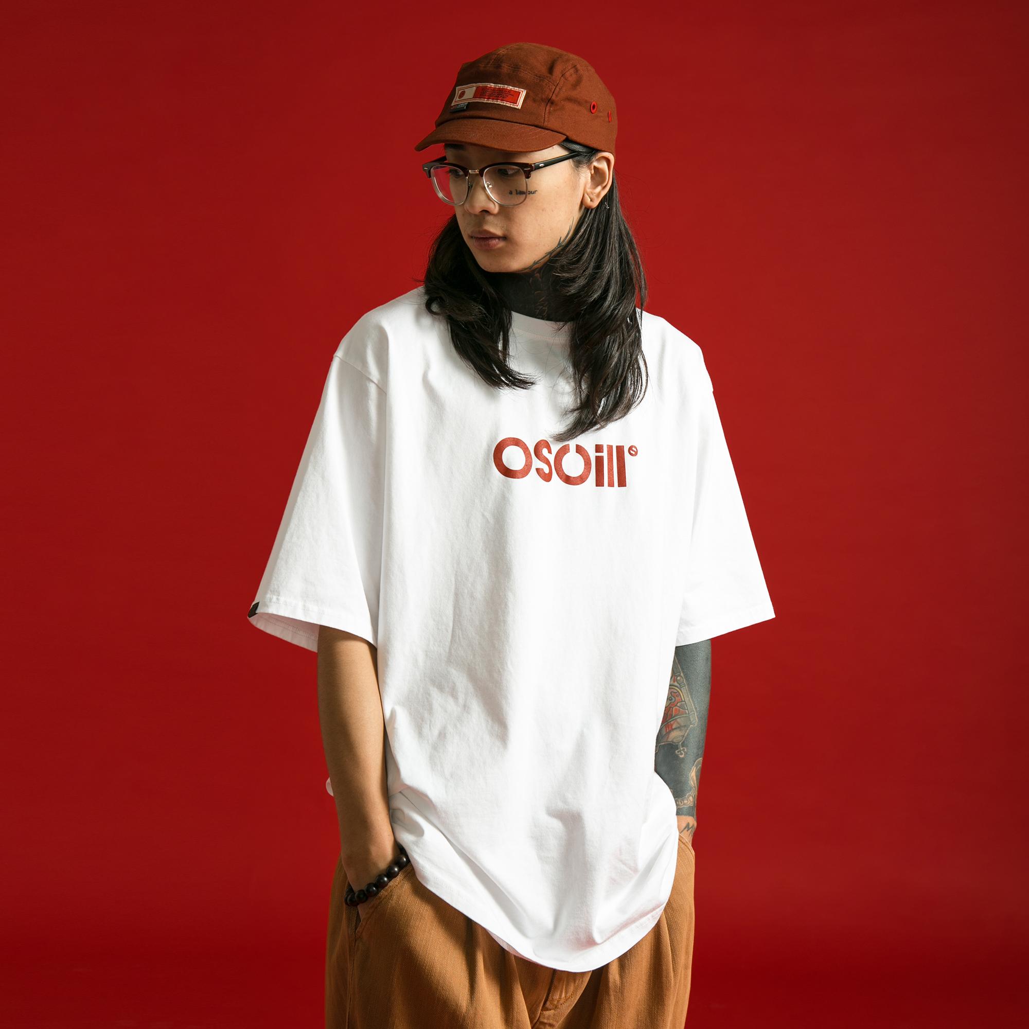 OSCill OG basic logo 元年振荡基础短袖T恤tee三色全棉