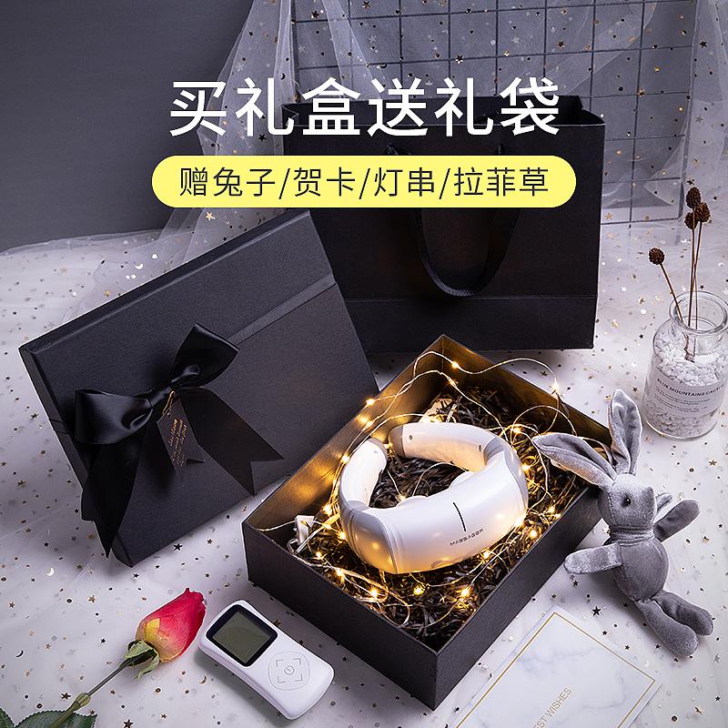 生日礼物礼品空盒子手提袋子包装口红高档ins风大号小号创意男款