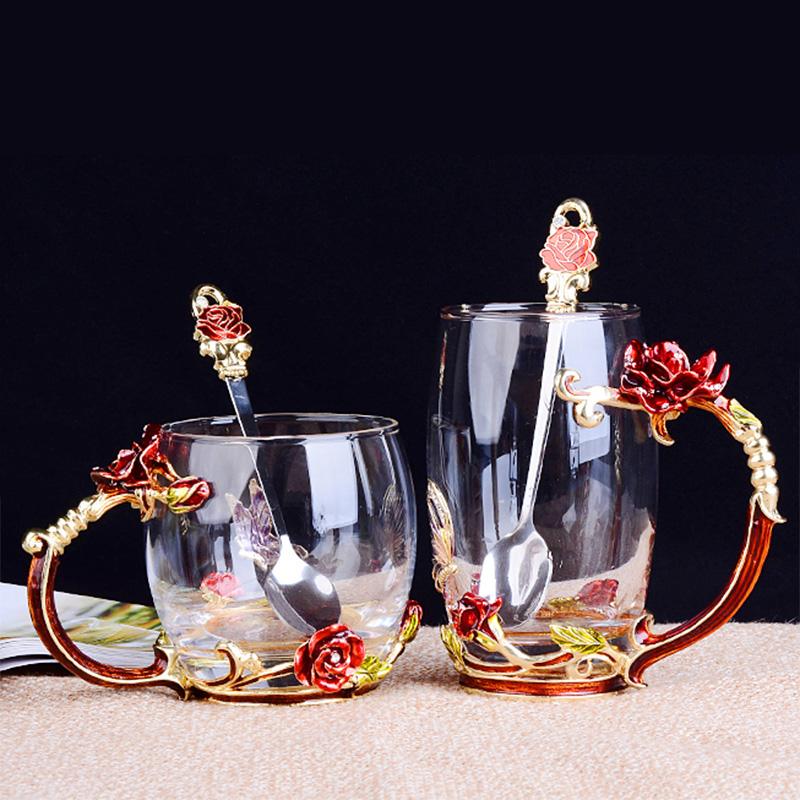 漱口杯玻璃情侣款结婚欧式创意一对韩国刷牙洗漱杯子牙缸牙杯家用满35.80元可用1元优惠券