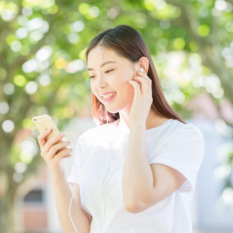 影巨人原装正品苹果11入耳式有手机