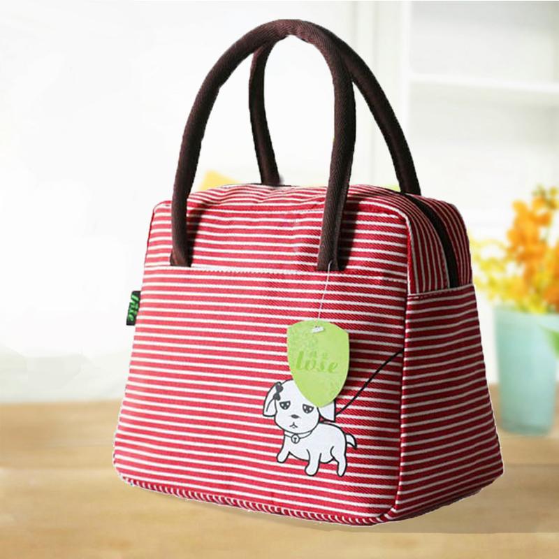 10月12日最新优惠帆布小布包防水包学生手提便当盒