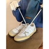 许刘芒 美式复古板鞋秋冬学院风搭配王米色百搭低帮运动鞋德训鞋