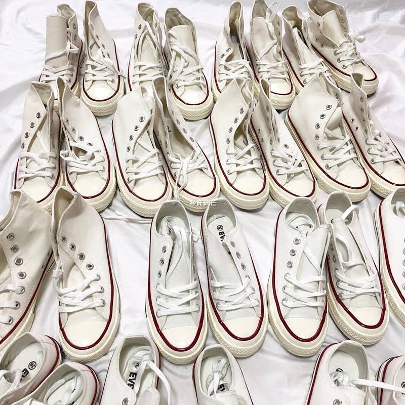 许刘芒 2018春季ulzzang小白鞋白色帆布鞋韩版百搭chic女学生街拍