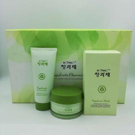 韩国新生活化妆品青果菜相娥面膜贴女士补水保湿按摩膏霜正品套装