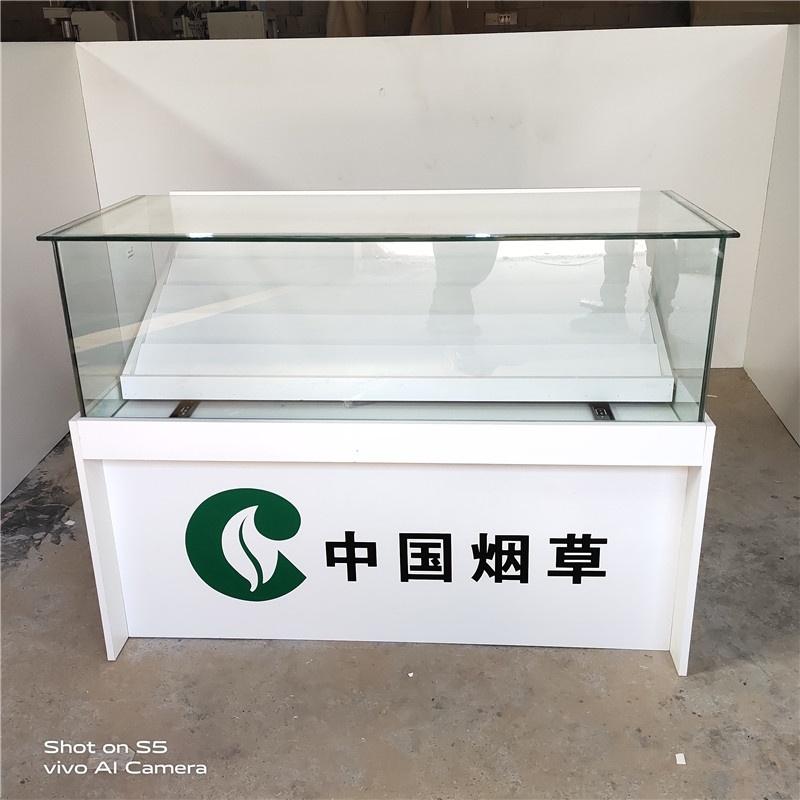 烟柜展示柜香烟柜台新款烟草专卖小卖部玻璃烟柜便利店超市收银台