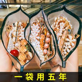 韩国网红珍珠发夹简约风气质少女发卡头饰ins侧边刘海夹子女发饰图片