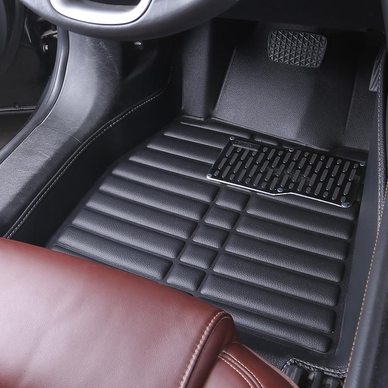 单个主驾驶室单片大众现代正皮革专用新老脚踏地垫汽车脚垫全包围