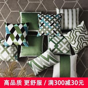 【新品】沙发抱枕靠垫客厅北欧风格家用靠枕靠背几何图案图片