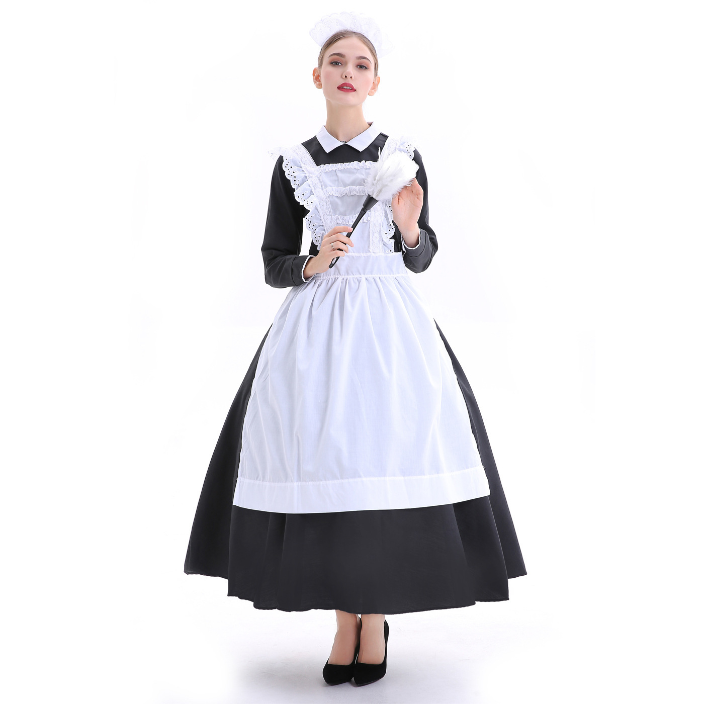 Halloween party costumes stage show costumes maids maids maids French manor maids role costumes
