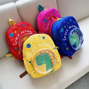 幼儿园书包3-5-6岁8太空恐龙男孩双肩背包女小学生一年级儿童书包