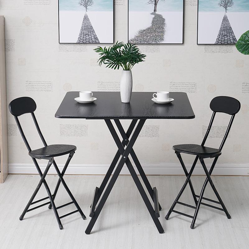 宜家折叠椅家用经济型靠背椅子电脑椅简约白色便携折叠小凳子简易