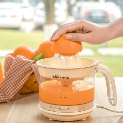 小熊电动榨汁机小型便携式家用压榨器橙子橙汁柠檬手压水果榨汁杯