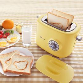 小熊烤面包机迷你家用吐司机全自动多功能早餐神器多士炉土司加热图片