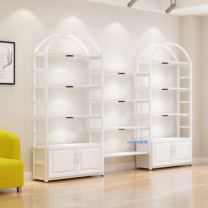 化妆品展柜美容院货架展示架置物架自由组合展柜多功能美甲展示柜