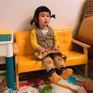 儿童沙发椅女孩公主宝宝座椅幼儿园图书阅读角单人小孩迷你小沙发