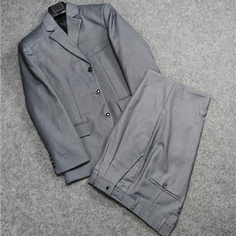 经典超值西服套装男正装商务男士职业西装春秋礼服中老年西装套装