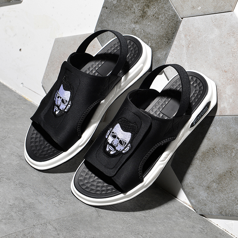 2020 new air cushion sandals mens beach slippers outdoor summer high-grade trend personalized versatile two wear