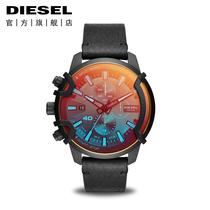 Diesel手表迪赛手表男官方旗舰黄景瑜同款时尚偏光石英男表DZ4519