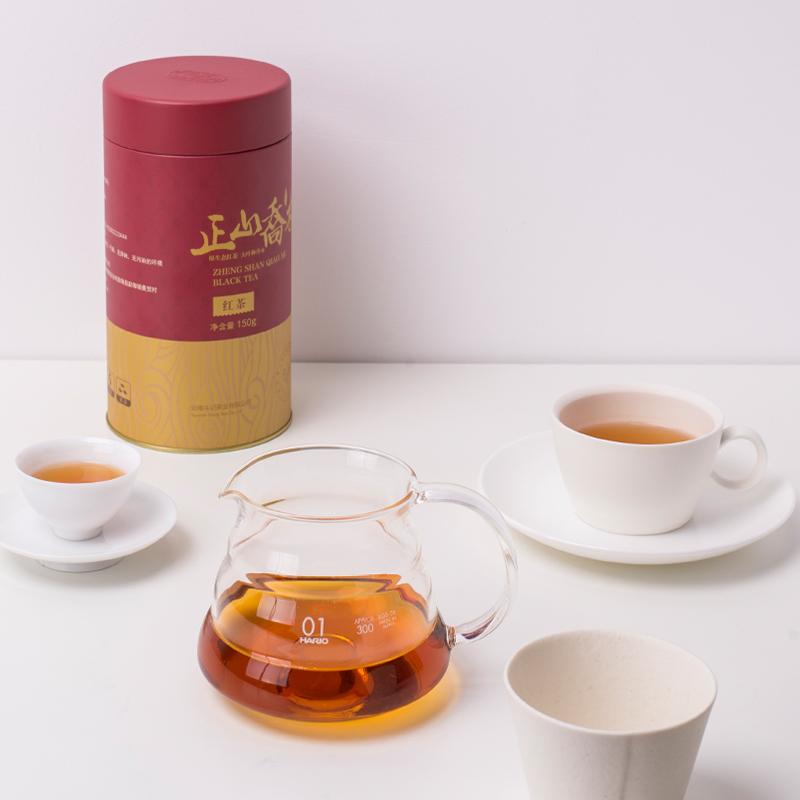 斗记茶业1901原生态大叶种金奖正山乔木红茶150g罐装茶叶卖家包邮