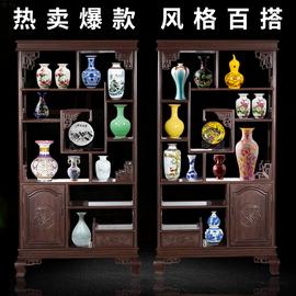 景德镇陶瓷器青花瓷插花花瓶家居办公室装饰品摆件客厅小工艺品b9