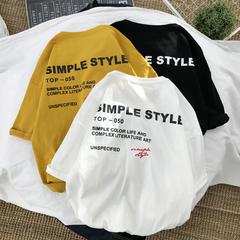 19夏季男士新款个性字母印花短袖T恤T5988-P25特(不低于38)