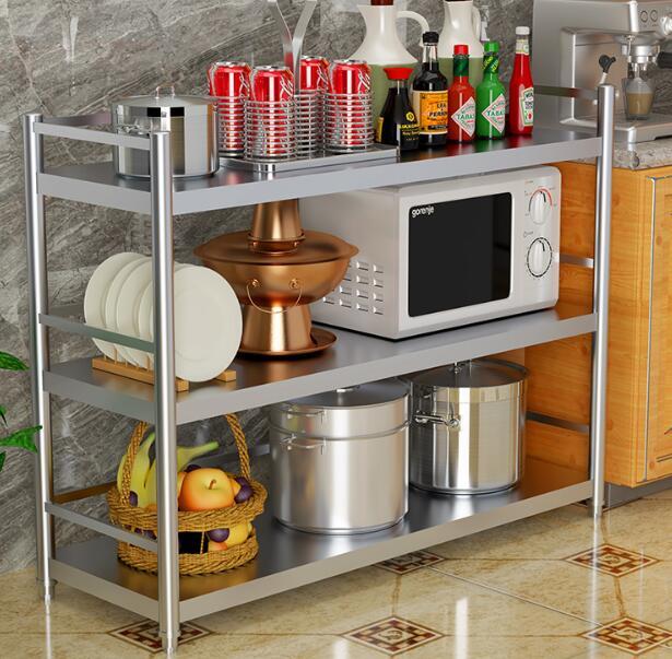电磁炉多层微波炉架子收纳架放锅烤箱居家餐饮厨房用具用品电饭锅